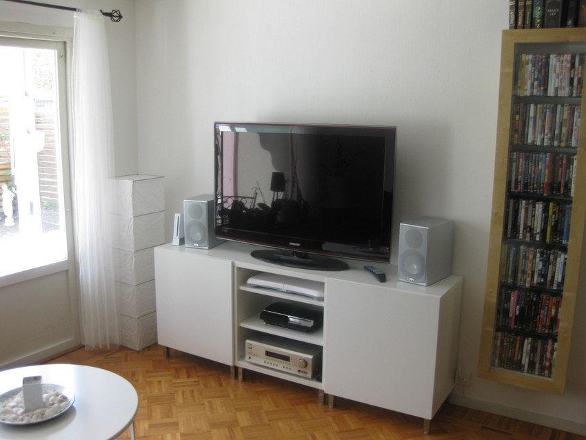 Ljud och bild i vardagsrummet..