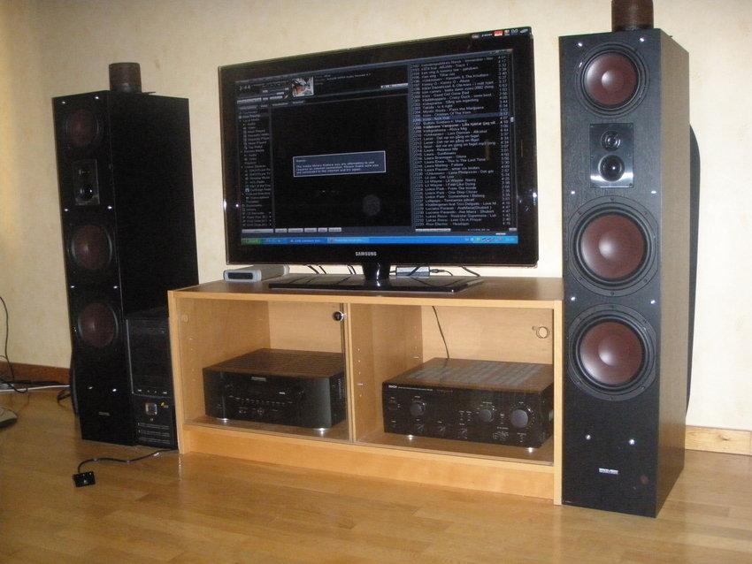 Front setup