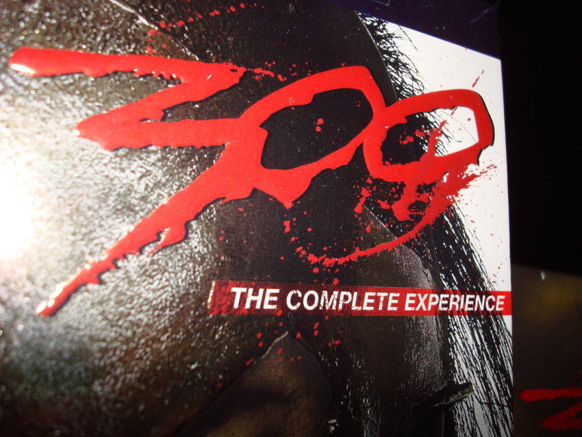 300 The Complete Experience! Blu-ray!