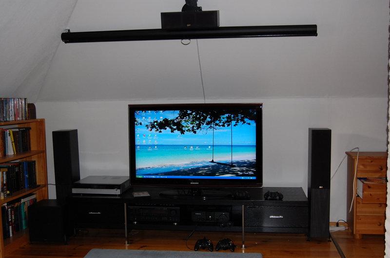 88 tums duk och 46 tum TV - bara att välja!