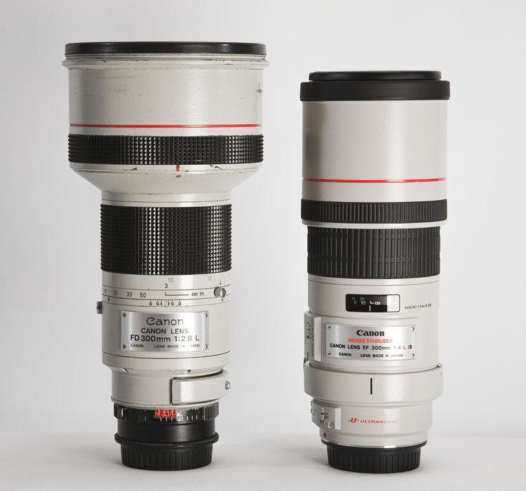 Bilder p� Canon EF 300/4,0 L IS USM