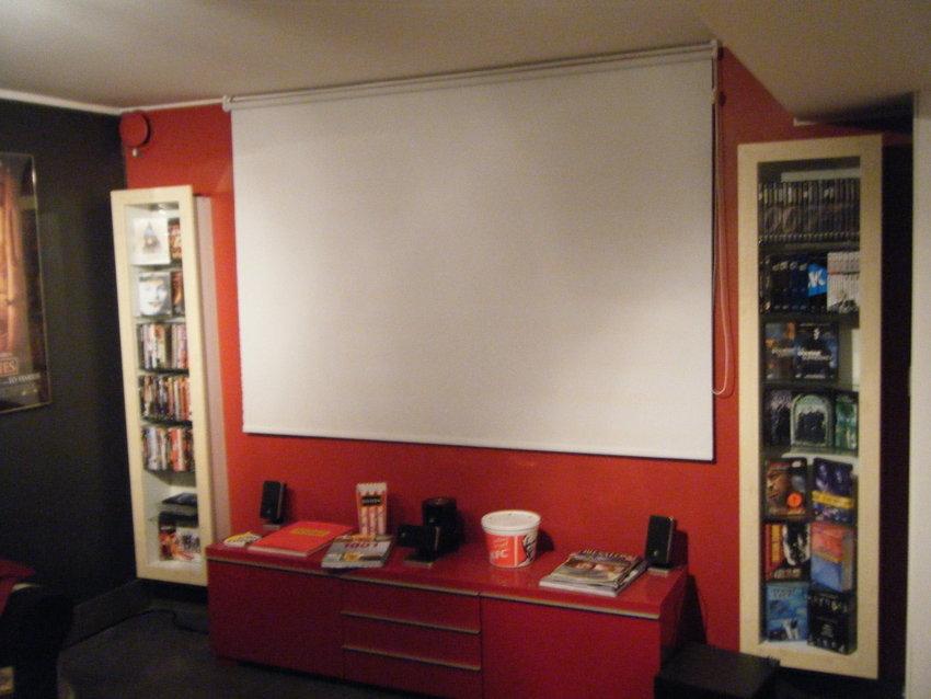Filmer, duk och bänk