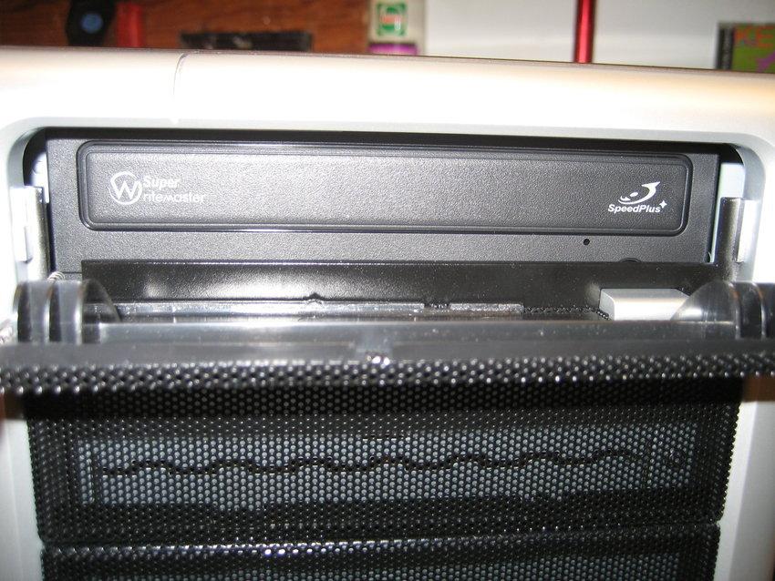 DVDn från framsidan
