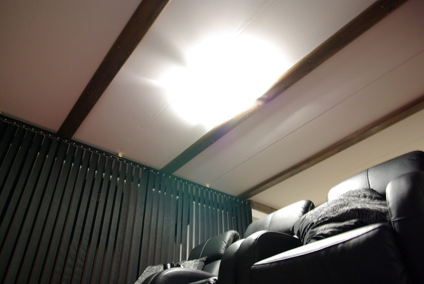 överexponerad taklampa