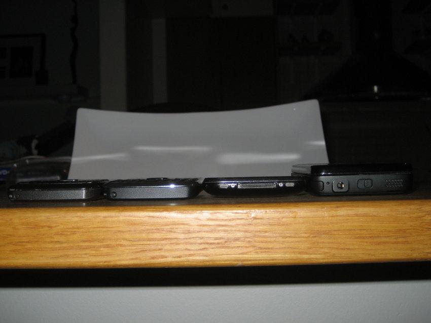 Nokia E71, Nokia E72, iPhone 3G, Nokia N900