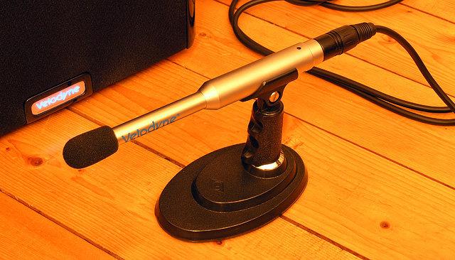 Velodyne DD-10 mic