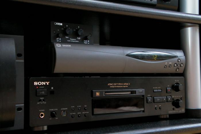Sony MDS-JB940 och Sagem ICD 4000