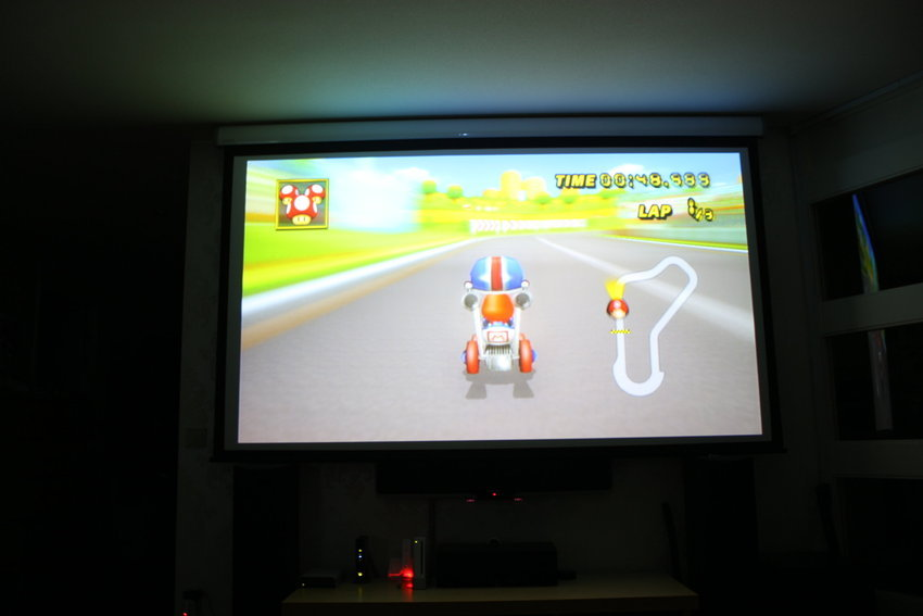 Mario Kart ska spelas på projje! :)