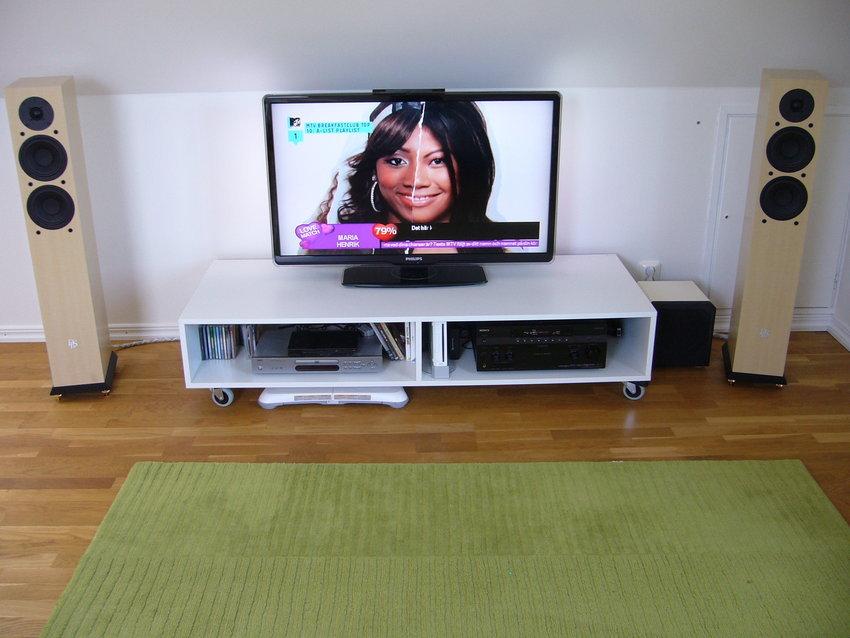 Ny TV och nya högtalare