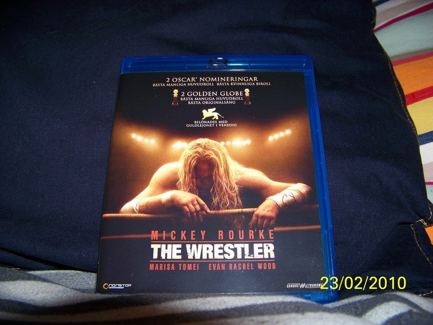 The Wrestler på blu-ray
