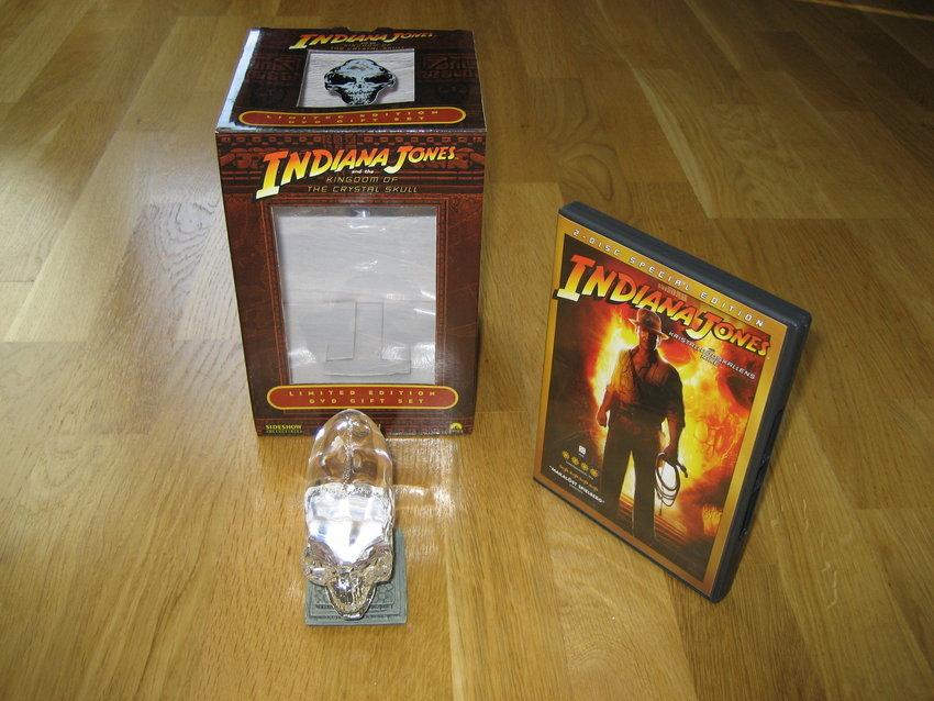 Indiana Jones och Kristalldödskallens Rike - Limited Edition