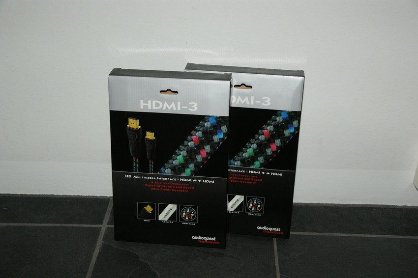 Nya HDMI kablar