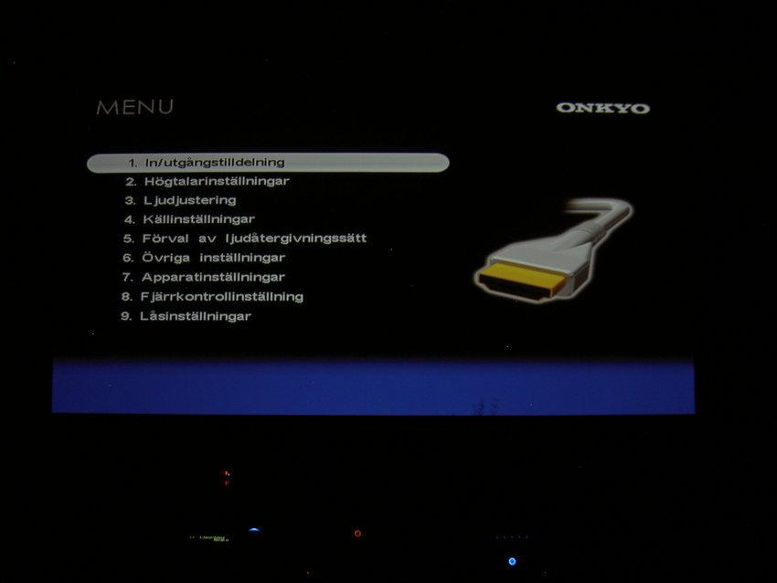 Onkyo PR-SC5507 Setup
