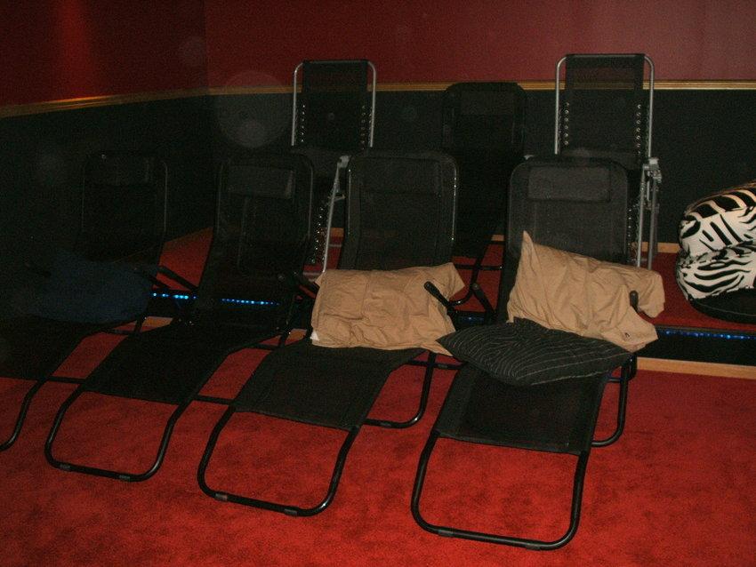 Tillfälliga sittplatser