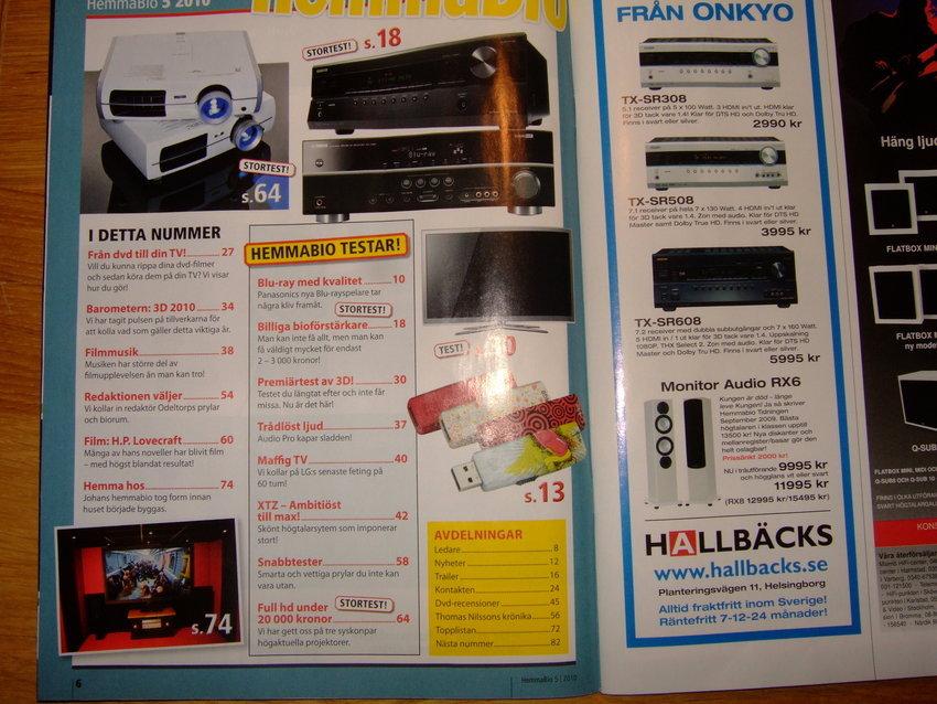 s.74 i Hemmabio Nr5 Maj 2010 !