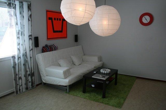 Soffa + bord