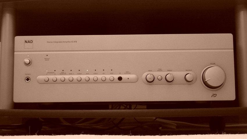 En riktigt bra förstärkare som passar fint till Monitor Audio.