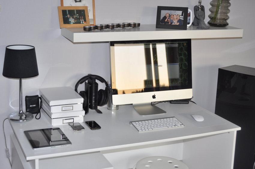 Vi har länge suktat efter en iMac och äntligen är den här :)