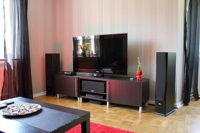 Gamla möblerna och färgerna