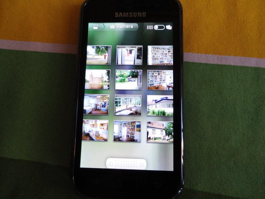 Samsung Galaxy S - Se på bilder