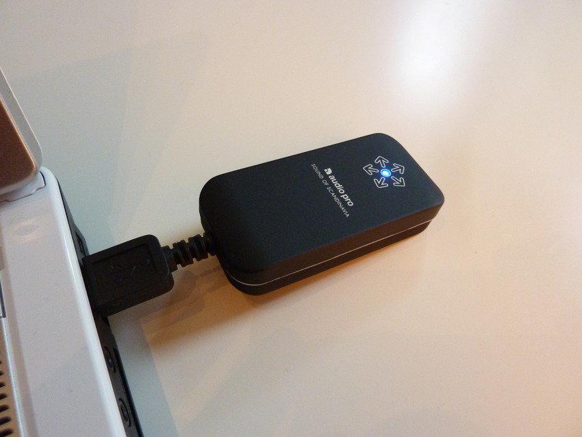 Fantastisk och liten... Audio Pro WF 100!