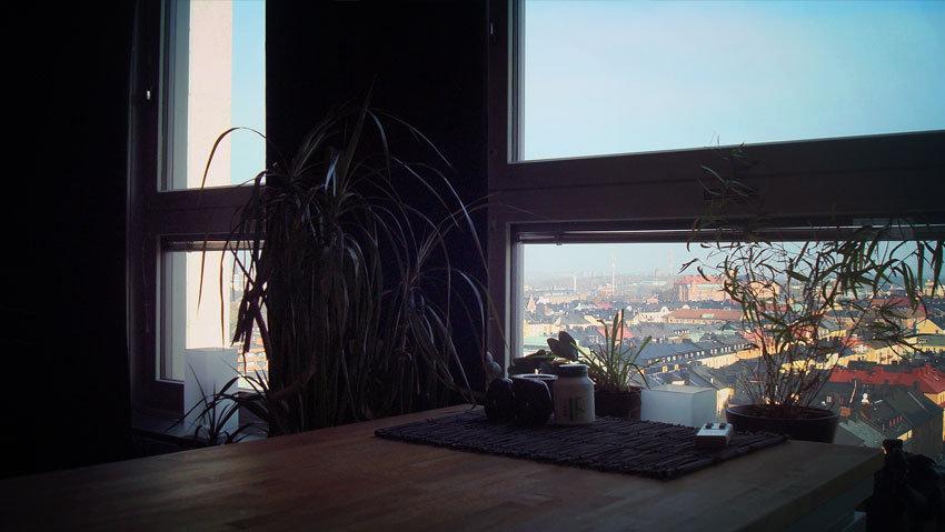 Utsikten över södermalm