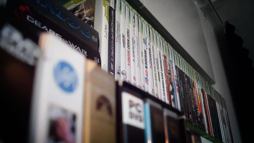 360 spel och lite filmer