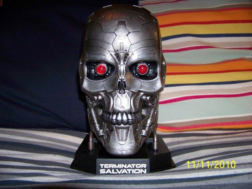 Terminator Salvation Limited T-600 Skull edition blu-ray