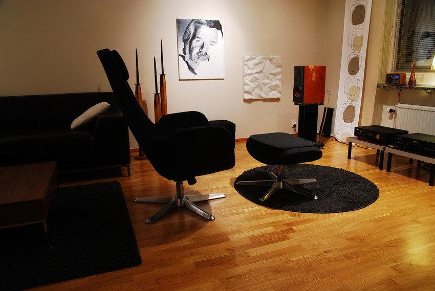 Äntligen en ny lyssna-stol !