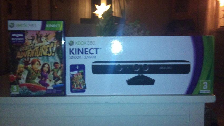 Kinect box + Adventures