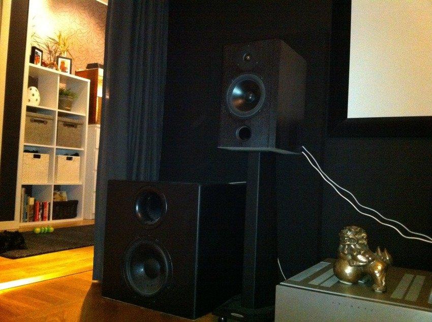 Ino Audio PR18 topp med X2 basar.