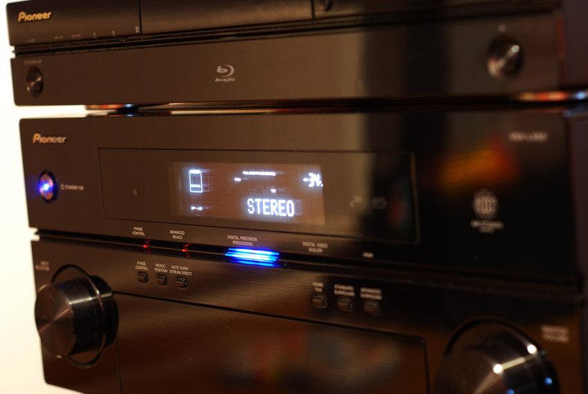 Detaljbild Blu-Ray/Receiver