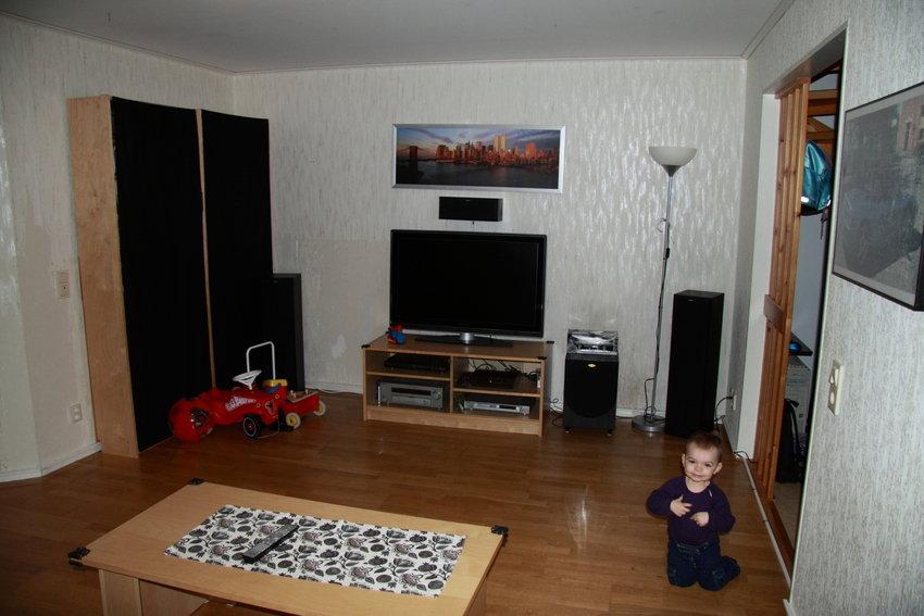 vardagsrum innan renovering