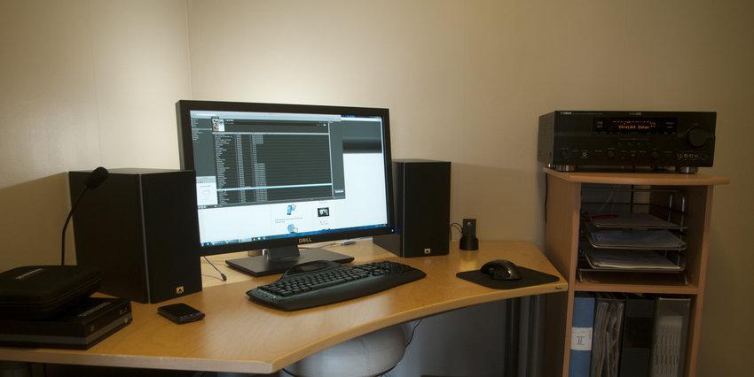 Mitt lilla kontor