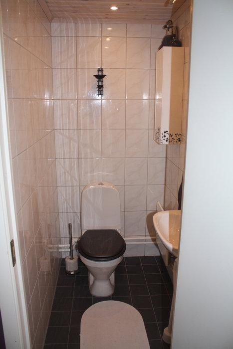 Toaletten - nedre våningen