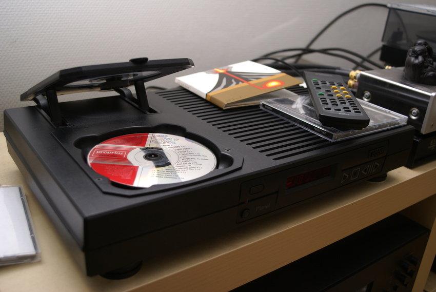 Ny CD-spelare.