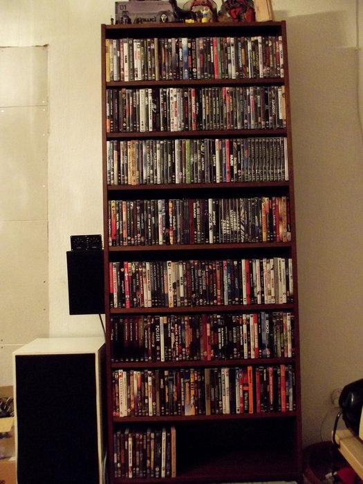 DVD-samlingen, december 2011