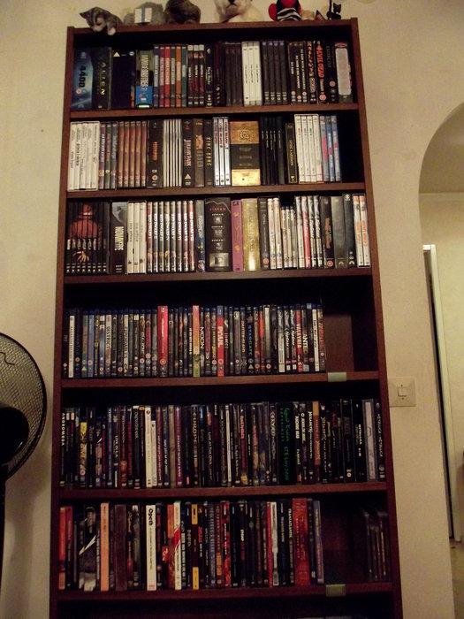 Boxar, blu-ray och musik-DVD/blu-ray.