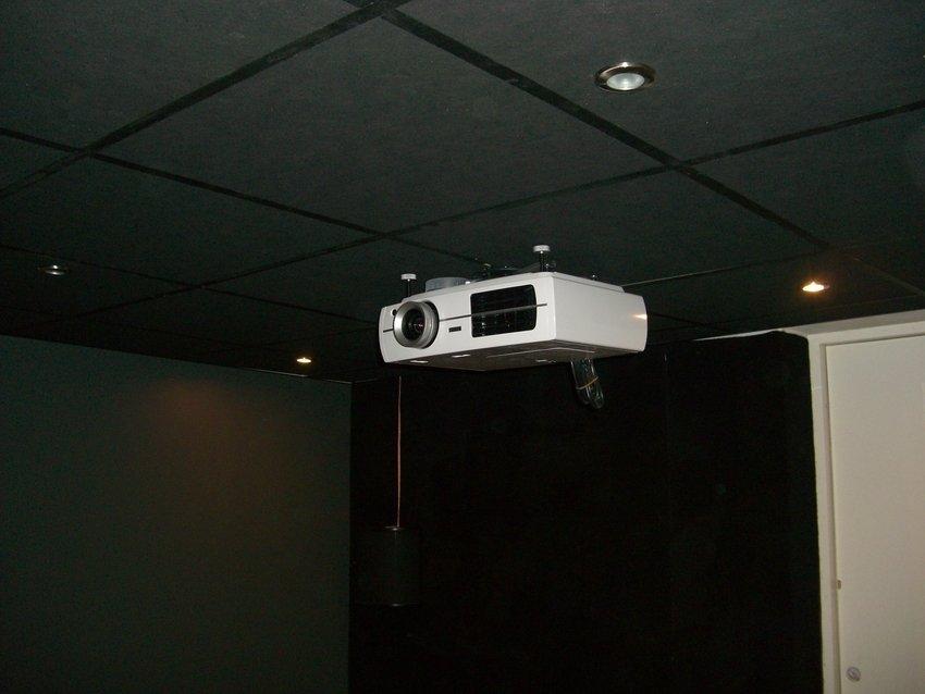 Projektron i taket