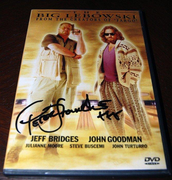 The Big Lebowski signerad av Peter Stormare