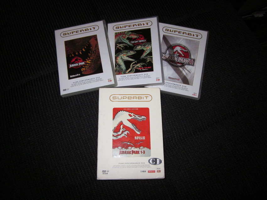 Jurassic Park Superbit Trilogy