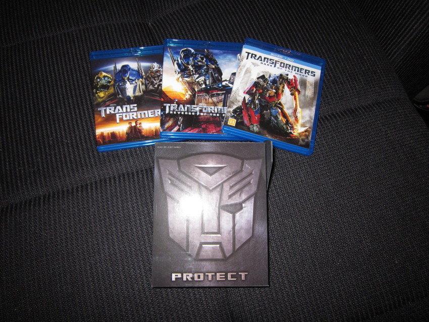 Transformers 3 Movie Blu-Ray Box