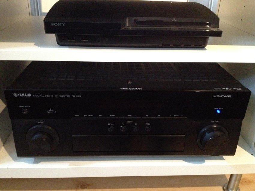 Yamaha Aventage 810, PS3