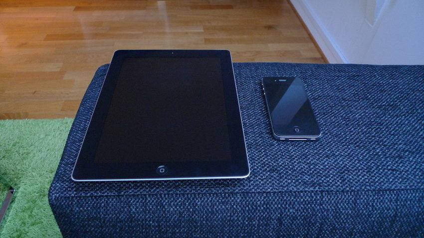 Ipad (3rd Generation) och Iphone 4