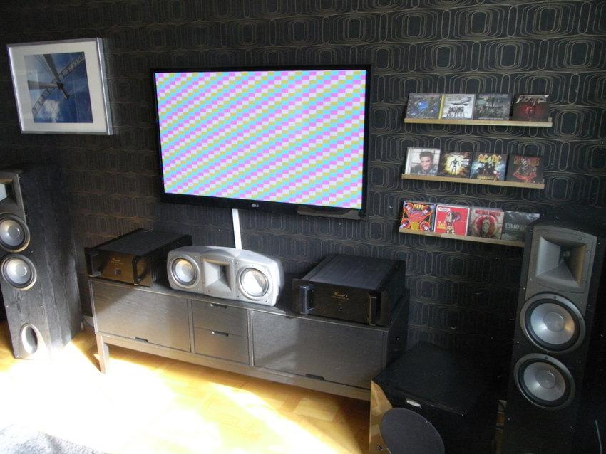 Tv och musik hörnan.