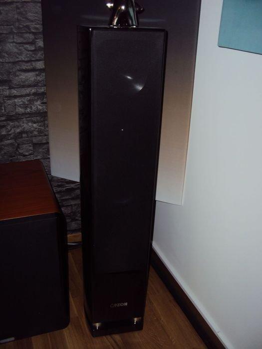 Reference 7 DC med SCC bakom och en boaorm längs golvet.