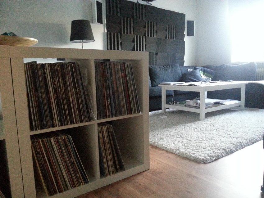 vinyl + soffa