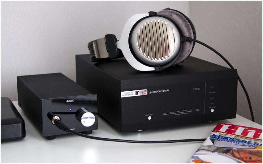 Musical Fidelity M1  & Beyerdynamic DT990