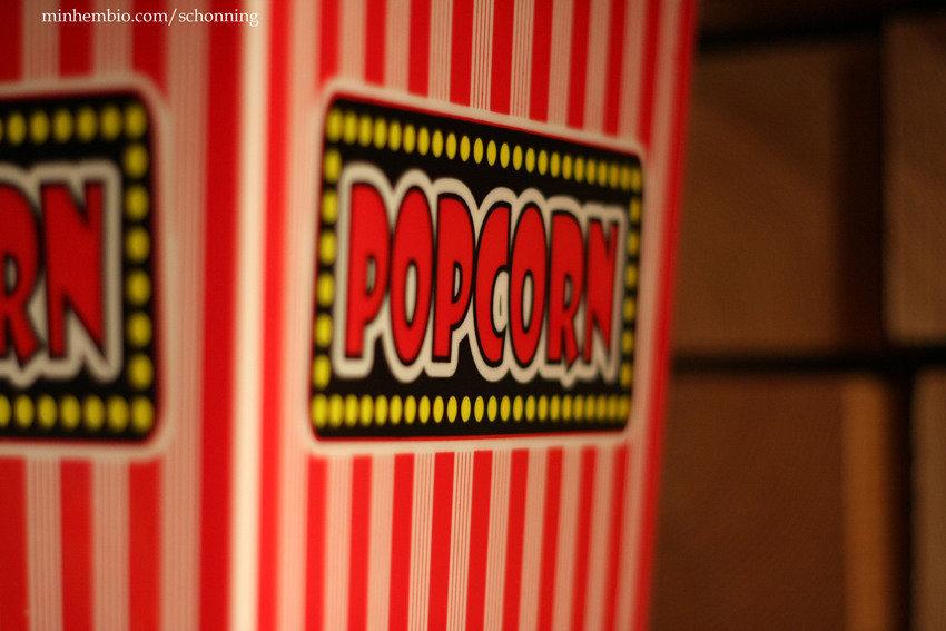 Popcornburk