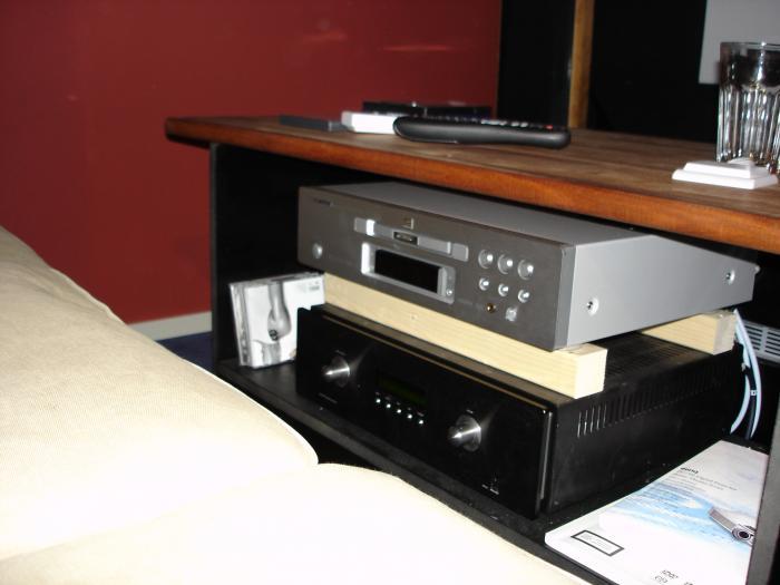 Har bytt ut Primare DVD:n mot Marantz 9500 som spelar HDMI